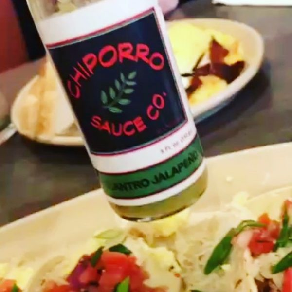 Cilantro Jalapeno Hot Sauce is the perfect companion to tacos and burritos