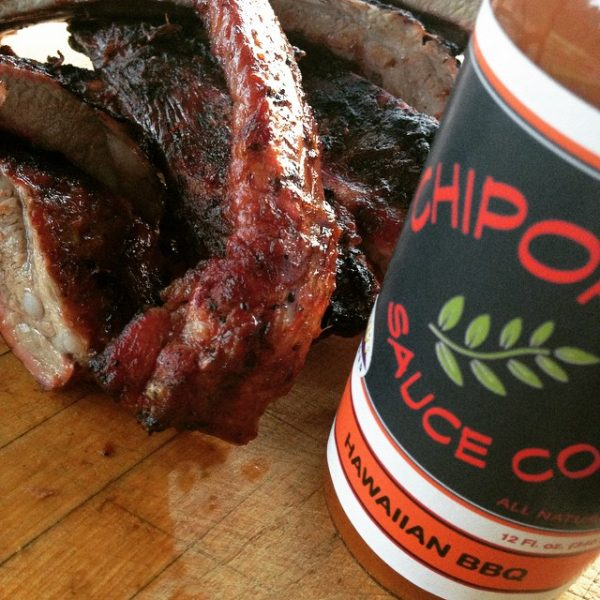 Hawaiian BBQ Sauce is perfect for grilled ribs