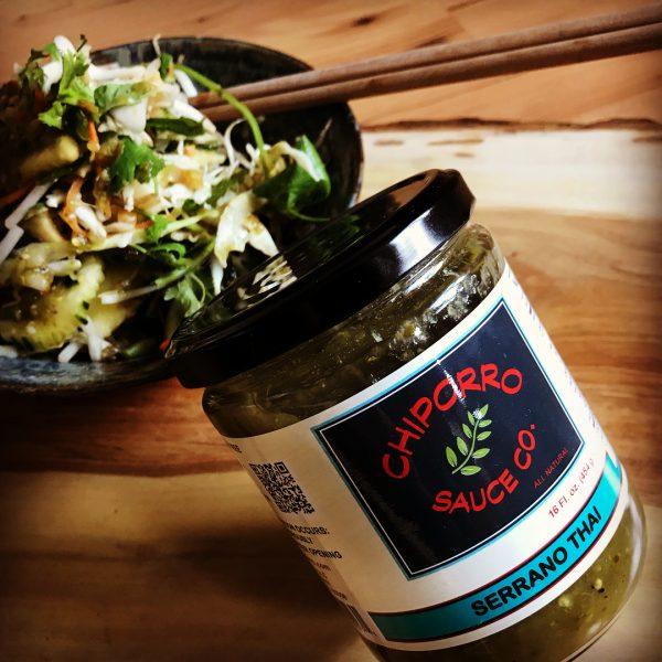 Vegan Serrano Thai Salsa JAr
